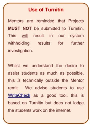 OBU Turnitin Notice